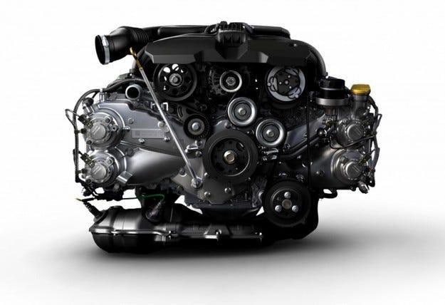 Subaru представи новия си боксерен двигател