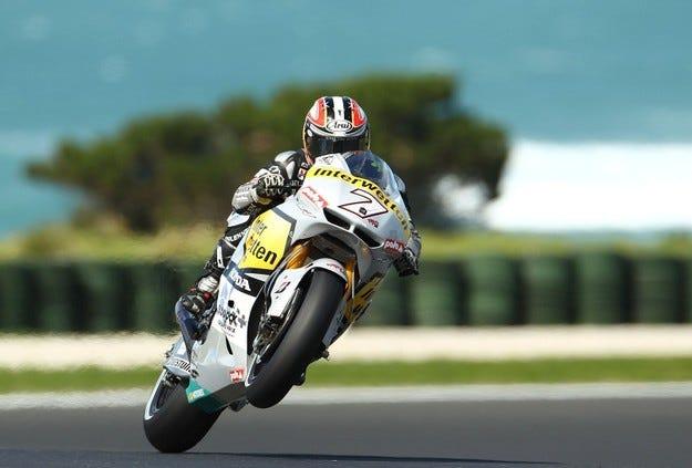 Interwetten Honda се отказа от MotoGP