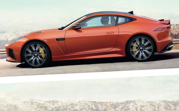 Jaguar обяви датата на премиерата на купето F-Type SVR