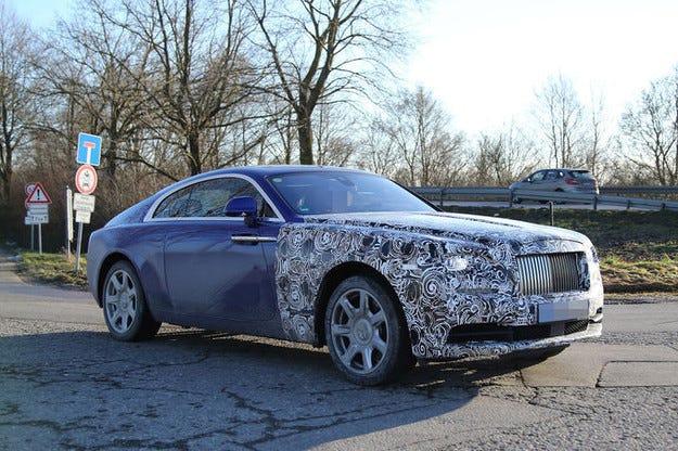 Rolls-Royce Wraith Series II: Фейслифт през 2018