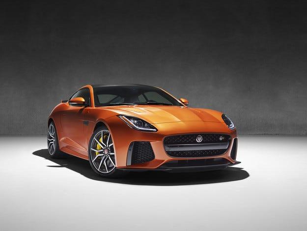Новият Jaguar F-TYPE SVR ще развива 322 километра в час