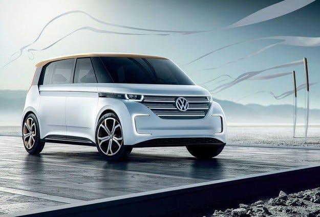 Концептуалният миниван Volkswagen Budd-е става сериен