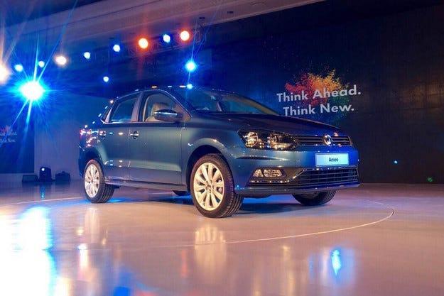 Представиха малкия седан за Индия Volkswagen Ameo