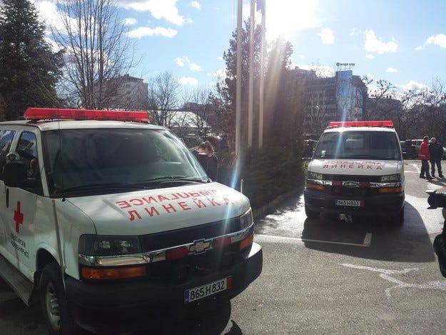 БЧК и Активна грижа получиха две линейки от Израел
