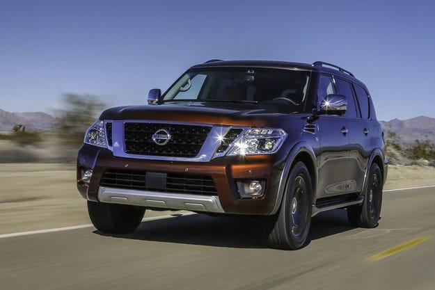 Японската компания Nissan представи всъдехода Armada