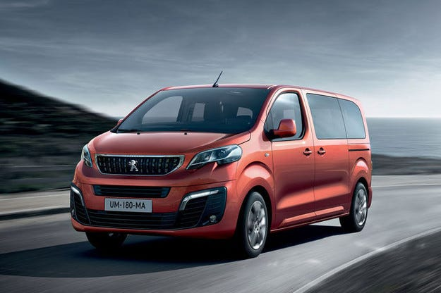 Peugeot Traveller или Bulli от Франция дебютира в Женева