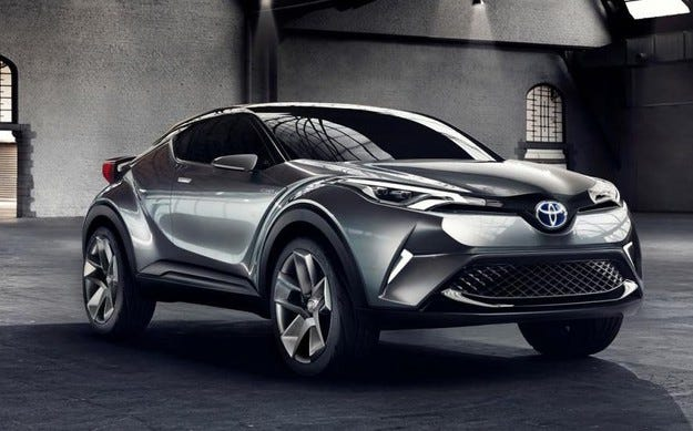 Toyota ще произвежда кросоувъра C-HR в Турция