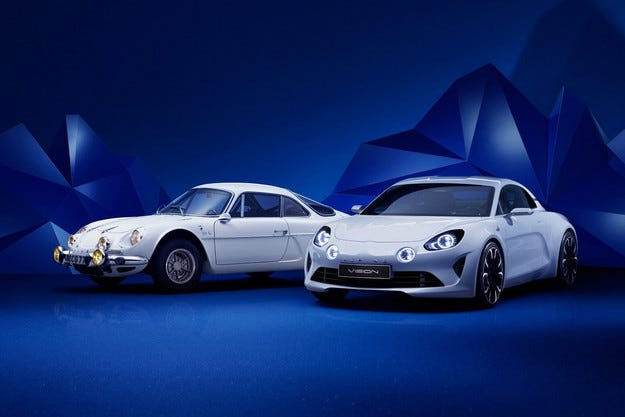 Renault показа концепта на спортния автомобил Alpine