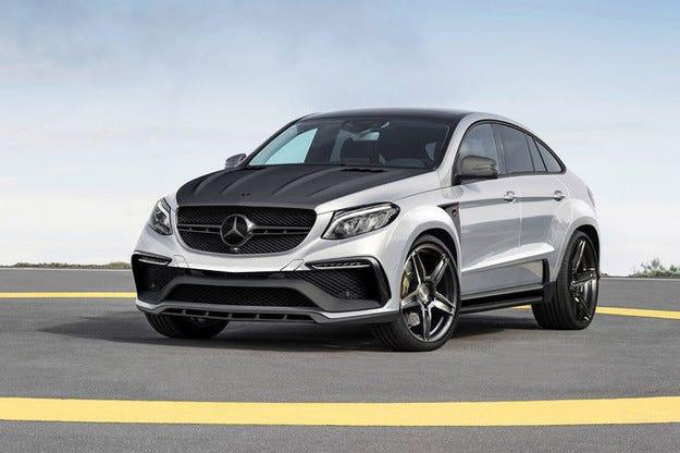 Mercedes Benz GLE Coupe Inferno дебютира в Женева