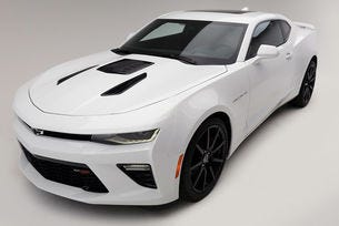 Добавиха още конски сили на купето Chevrolet Camaro