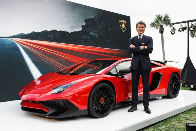 Сменят генералния директор на марката Lamborghini