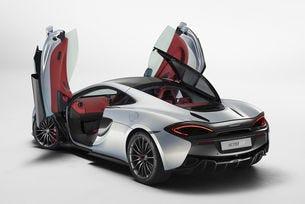 McLaren представи спортен автомобил с два багажника