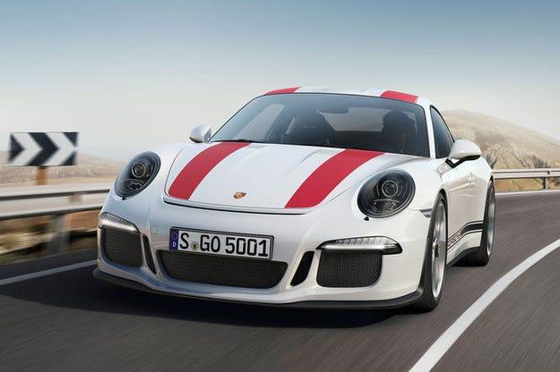 Porsche 911 R с лимитирана серия от 991 екземпляра