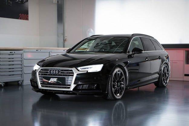 Abt Audi AS4 в Женева: Спортна програма за новия A4