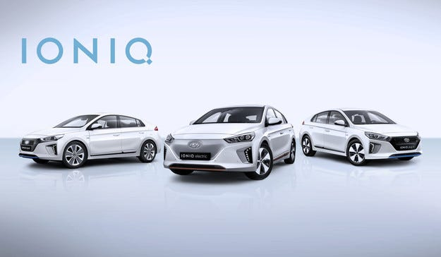 В Женева Hyundai Motor представя проекта IONIQ