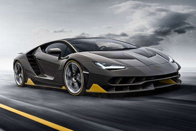 Lamborghini Centenario (2016): 770 к.с., 40 екземпляра