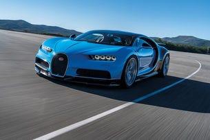 Bugatti Chiron ще постави нов световен рекорд по скорост