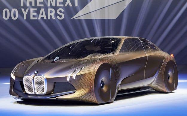 Концептът BMW Vision Next 100: С поглед към бъдещето