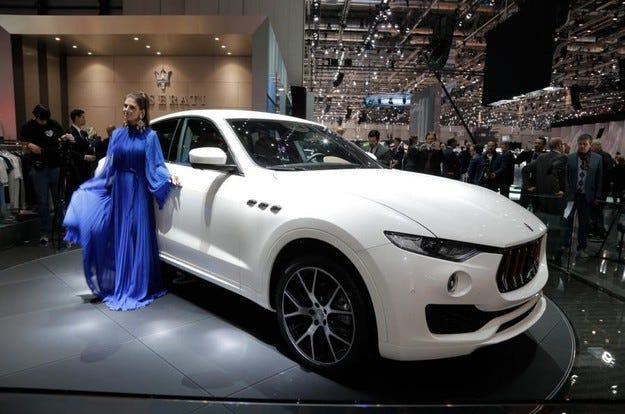 Maserati Levante е повратна точка в историята на марката