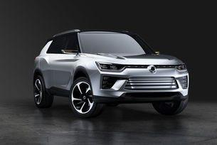 Ssangyong представя в Женева SUV концепт от средния клас
