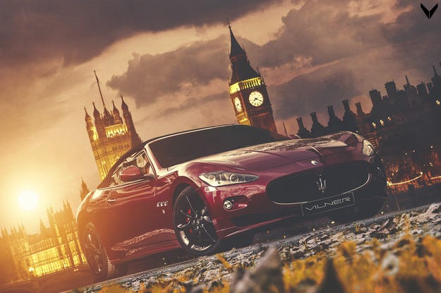 Maserati GranCabrio Sport by Vilner, направен в България