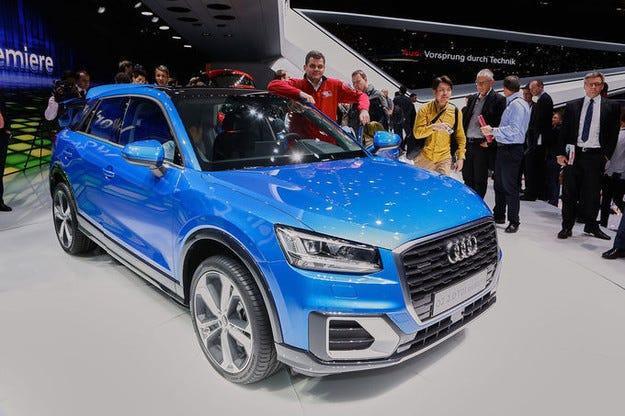 Audi RS Q2: Джуджето кросоувър с потентна версия