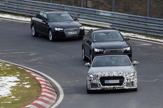 Audi ще представи TT RS в Париж вече като сериен модел