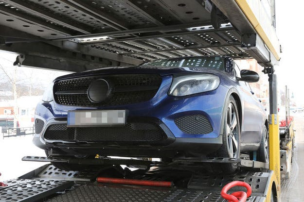 Mercedes GLC Coupé 2016 атакува сегмента SUV Coupé