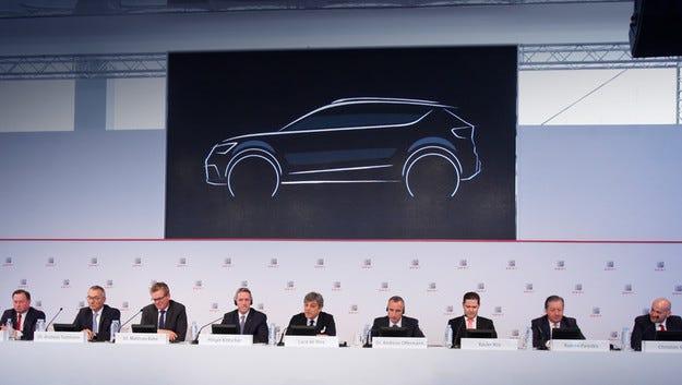 Мини Ateca от 2017: Seat пуска SUV във формат Q2