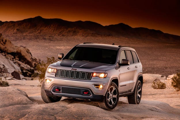 Разсекретиха Jeep Grand Cherokee Trailhawk в аванс
