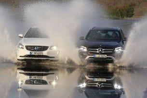 Mercedes GLC 250 d и Volvo XC60 D5
