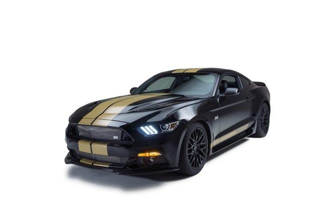 Юбилейното купе Coupe Ford Shelby GT-H става rent-a-car