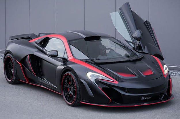 FAB Design Vayu GTR Coupé: McLaren с 32 к.с. повече