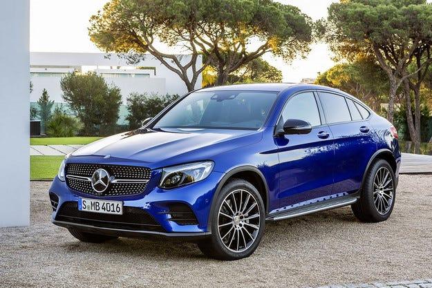 Mercedes-Benz представи компактния кросоувър GLC Coupe