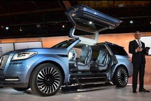 Компанията Lincoln показа предвестник на нов Navigator