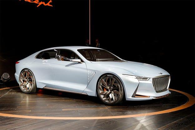Genesis показа бъдещия конкурент на BMW Серия 3