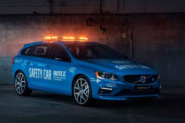 Volvo V60 Polestar стана кола на сигурността