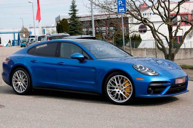 Разкриха дизайна на новия Porsche Panamera предпремиерно