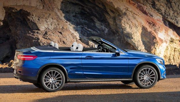 Mercedes GLC може да получи и открита версия