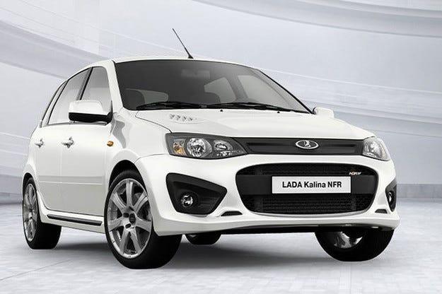 Горещата Lada Kalina NFR развива над 200 км/ч