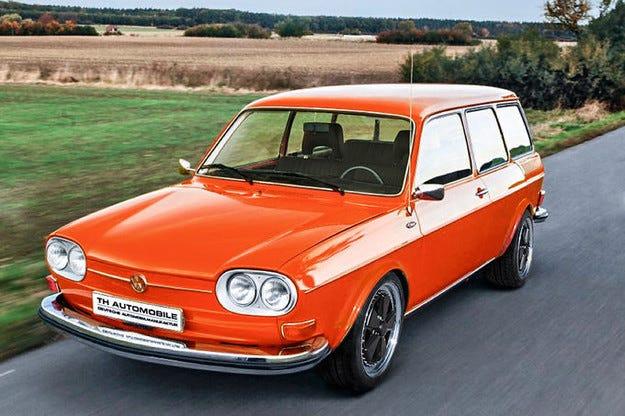 H&R VW 411 на Techno Classica: С мощност от Porsche