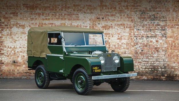 Land Rover отново ще произвежда кросоувъра  Series I