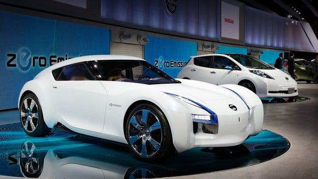В Nissan се интересуват от бъдещето на електромобилите