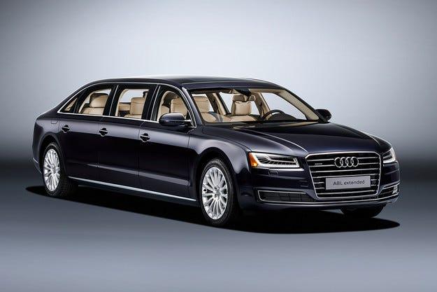 Компанията Audi представя лимузина на базата на A8