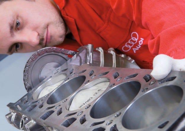 AUDI ENGINES