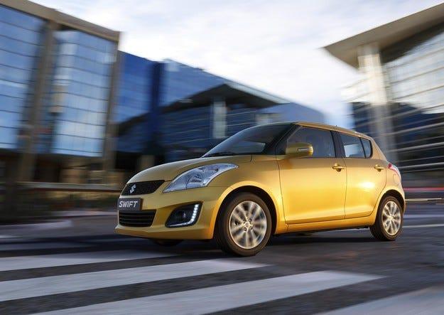 Продажбите на Suzuki Swift достигната 5 млн. единици