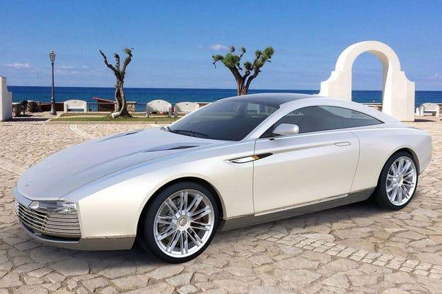 Cardi Concept 442: Руснаци имитират Aston Martin DB9