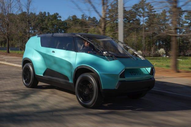 Toyota uBox привлече вниманието на  специалистите