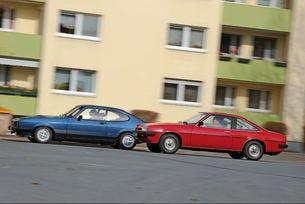 Ford Capri 2.3 S и Opel Manta 2.0 L