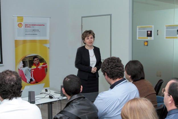 Shell отбелязва своя глобален Ден на безопасността